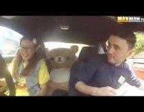 Pokštas naujai priimtiems vairavimo instruktoriams - driftere profesionalė