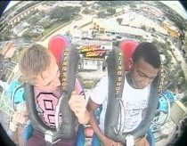 WATCH: Boy Faints Three Times During Slingshot Ride