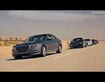 Automobilių kolona važiuoja tik su autopilotu - Hyundai reklama