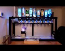 The Inebriator - Arduino Cocktail Machine - Dispensing Signature Cocktail