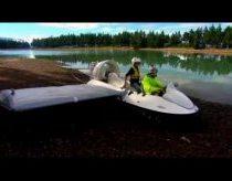 Namie pagaminta skraidanti amfibija
