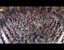 Sound of Music | Central Station Antwerp (Belgium) | flashmob
