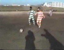 Japonų Futbolas su Žiūronais