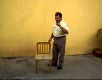 Kėdė - lagaminas