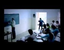 Mentos Commercial - How to walk in a classroom when running late.