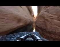 High Speed Jet-Ski Through Canyon