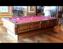 "Gyroscopic self-leveling pool table on the cruise ship ""Radiance of the Seas"""