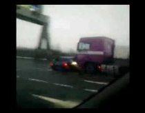 Furos vairuotojas nemato mašinos kurią partrenkė