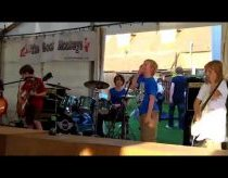 Enter Sandman Metallica by The Mini Band 8 to 10 years old