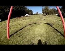 Mini quadcopterių (dronai) lenktynės
