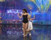 Ukrainos Talentai - Duo Flame - aistringas šokis
