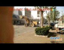 Buldozerių kova Kinijoje