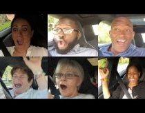 Automobilis tesla ir žmonių emocijos važiojant juo