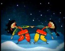 Jingle bell dainelė su indišku akcentu