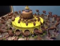 Awesome Spinning Chocolate Illusion