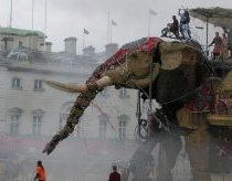 40ft Robot elephant