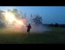 Roman Candle Machine Gun