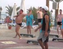 Storulio paplūdimio mankšta - aerobika