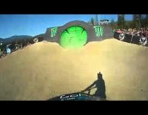 First-Person Freestyle Mountain Biking