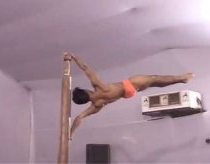 Insane Indian Pole Acrobatics / Gymnastics ( Original )