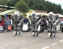 Three Robots. Titan an his two brothers