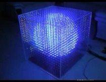 Trimatis LED švieselių kūbas