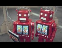 iDiots short movie about smartphone buyers robots