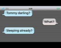 SMS dialogas - Labanakt (Good Night)