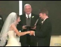 The waffley and pancakey wedded wife - small and funny wedding ceremony fail