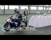 Traukiam staltiesę su BMW S1000 motociklu