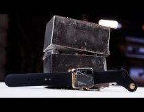 Kaip sudaužomas $10 000 kainuojantis auksinis Apple Watch laikrodis