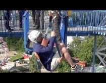 Free Fall Drop Ride Tivoli Friheden Denmark