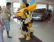 Man transformer