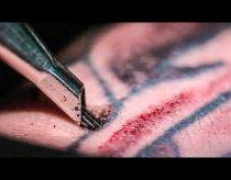 Tatuiruočių darymas - IŠ ARTI (ir sulėtintai)