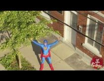 Pričiupom: Tikrasis supermenas