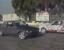 Driftas iškart su dviem BMW mašinom!