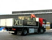 Truck drift in to garage - XL-BYGG Roald - RoaldHus
