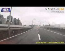 Falling plane captured with video registrator - Taiwan