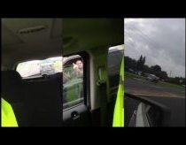 Redneck Road Rage Gets Instant Karma - Road Rage Karma