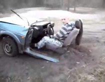 Driving half a car