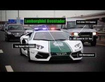 Dubajaus policija - Lamborgini, Ferrari, Camaro