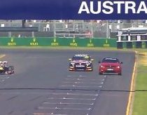 Melbourne F1 2013 speed comparison - V8 Supercar, Mercedes SL63 AMG, F1