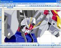 Piešimas su Excel programa