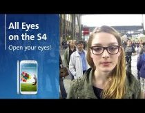 To win phone all eyes on the Samsung S4