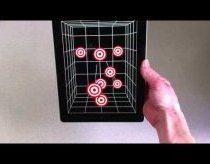 Žiūrovą sekantis iPad atvaizduoja 3D vaizdą BE 3D Akinių