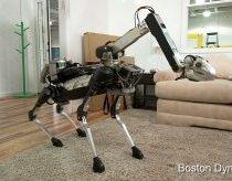 Boston Dynamics vėl su nauju robotu SpotMini