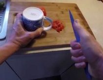 How to Sharpen Kitchen Knife - No Special Tools