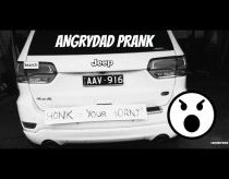 ANGRYDAD honk if you're horny prank