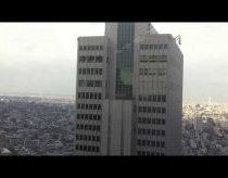 How skyscrapers moving around during earthquake (earthquake in Japan)