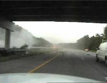 Cruiser cam catches I-675 crash